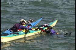 stabilize kayak