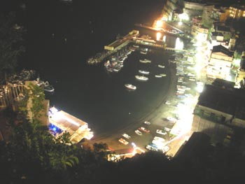 marina at nite