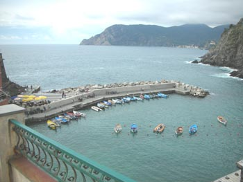 vernazza coast
